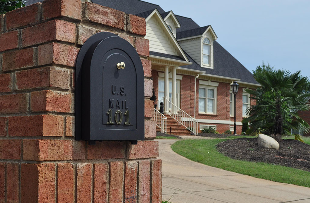 Brick Mailbox Antique